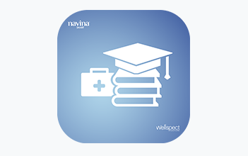 Wellspect Navina Educational app logo