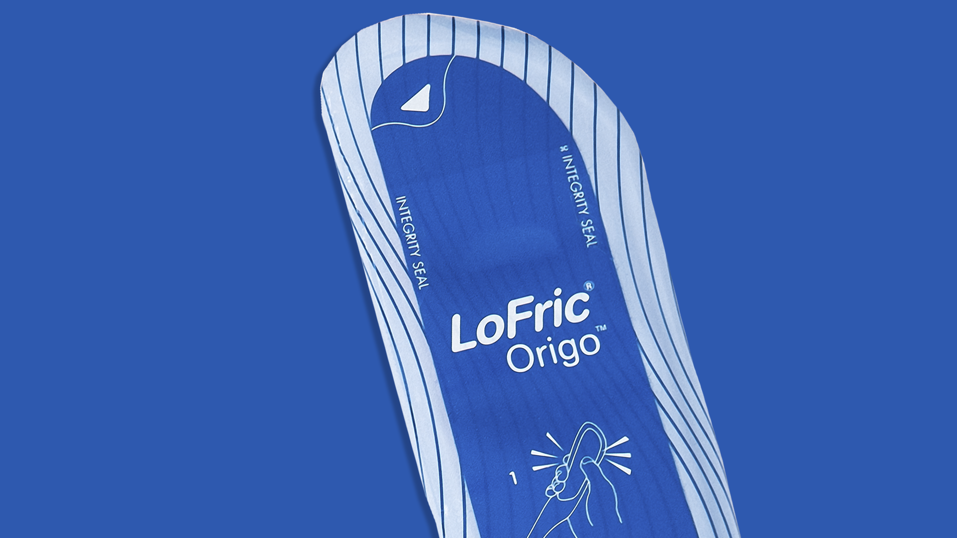 Wellspect Lofric Close up of Origo catheter